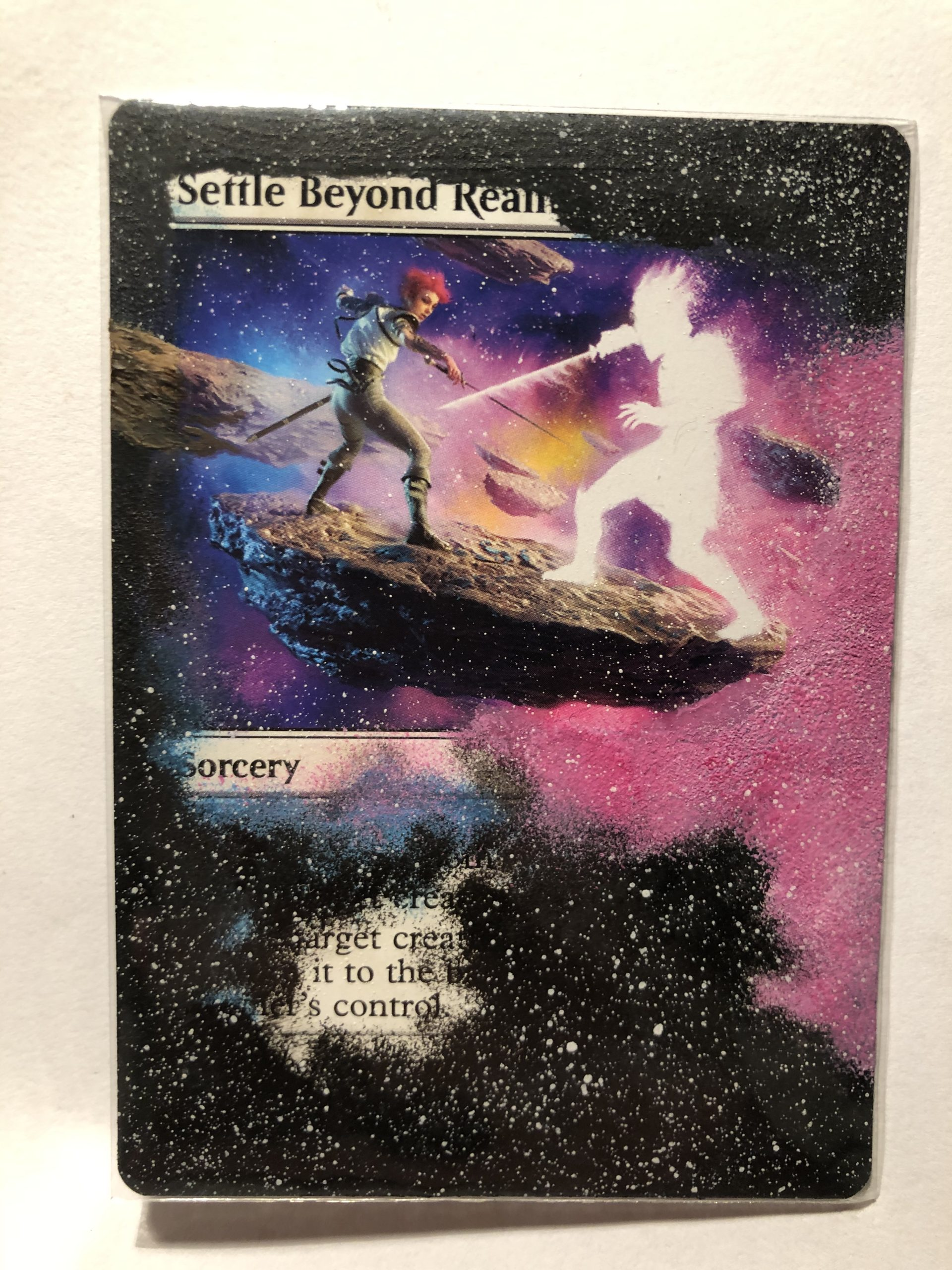 Settle Beyond Reality